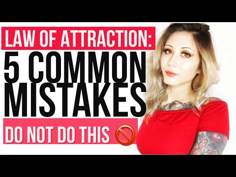HOW To Make The Law Of Attraction ACTUALLY WORK!
