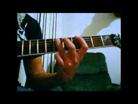 How to play the first Ball and Chain solo by Social D