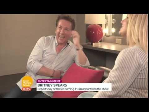 Britney good morning britain