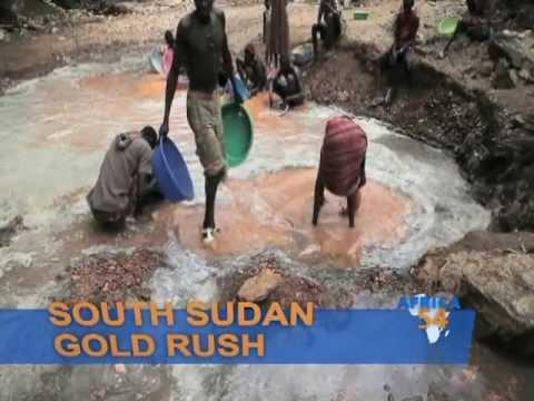 South Sudan Gold Rush