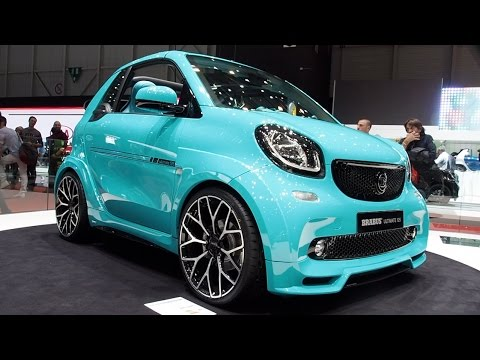 2017 smart fortwo brabus ultimate 125 cabrio in detail review walkaround interior exterior youtube. Black Bedroom Furniture Sets. Home Design Ideas