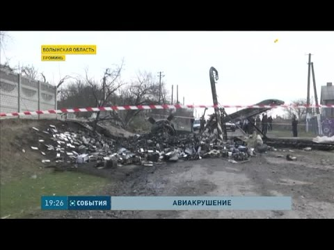 Минувшей ночью вблизи Луцка упал и взорвался самолет Ан-2