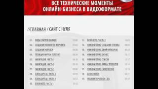 Обзор курса Евгения Попова по техническим моментам онлайн-бизнеса