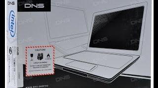 14'' Ноутбук DNS x300D (HD) розпакування, огляд з Avito за 10000руб