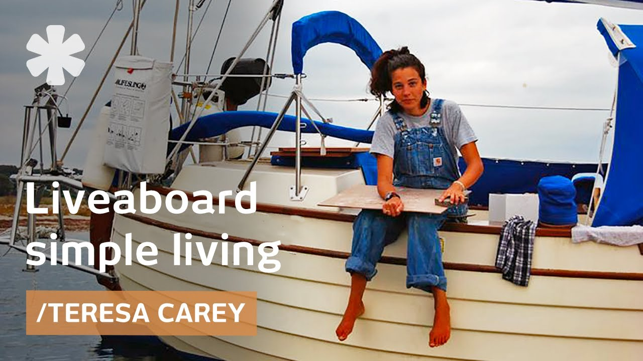 Liveaboard life: minimalism in a tiny home at sea