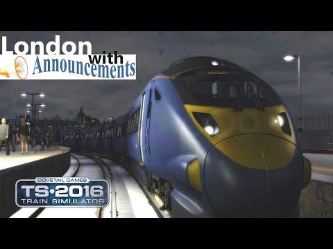 **2018 Train Simulator** London St Pancras - Faversham with Announcements