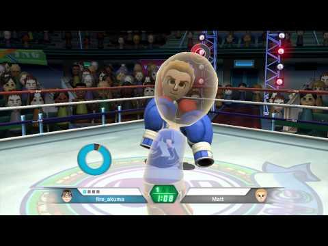 LivePlay - Wii U eShop - Wii Sport Club - Boxe