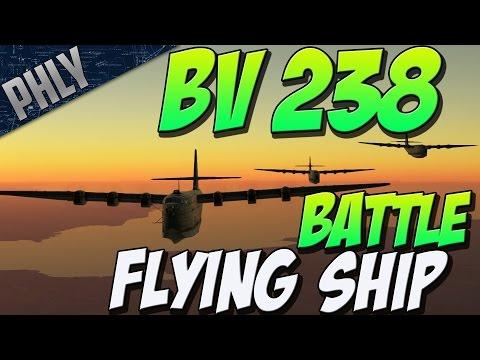 FLYING BATTLESHIP - BV 238 Massive BOMBER (War Thunder Gameplay)
