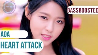 [BASS BOOSTED] AOA (에이오에이) - Heart Attack (심쿵해)