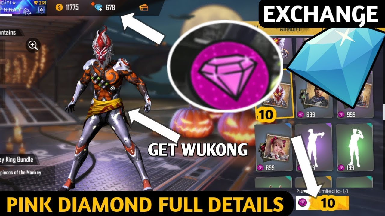 Watch Ads Earn Diamond Pink Diamond Event Full Details Free Fire New Event Full Details Youtube