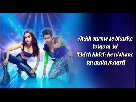 Illegal Weapon 2.0 Lyrics  Street Dancer 3d  Varun D, Shraddha K  Tanishk B,jasmine S,garry S