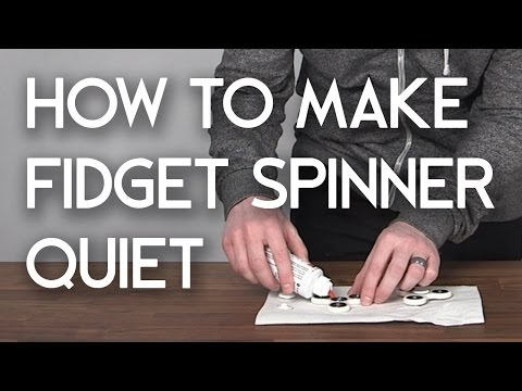 How To Make Fidget Spinner Quiet - Hand Spinner Fidget Toy EDC Fidgety Oil Bearing