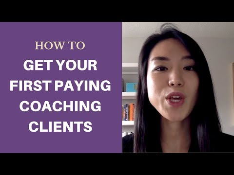 How to get your first paying coaching clients