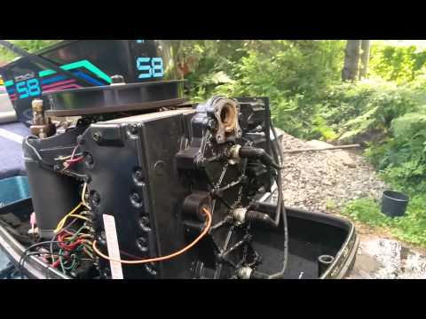 1988 Force 85HP Thermostat Off