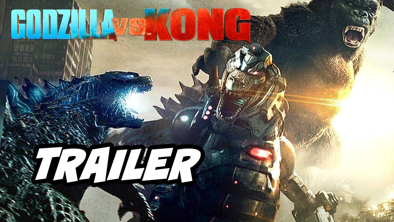 Godzilla vs Kong Trailer - Mechagodzilla and New Scenes Breakdown and Easter Eggs