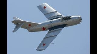 МИГ-15 аварийная посадка | Время первых отрывок