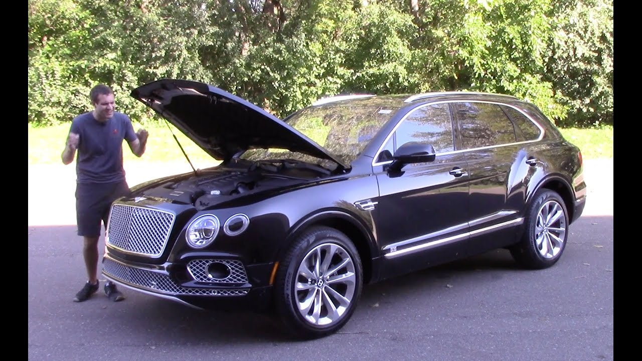 2017 Bentley Bentayga SUV Pricing - For Sale | Edmunds