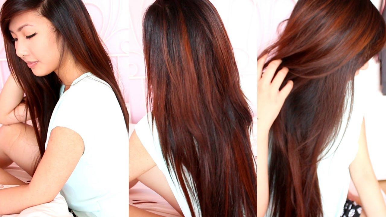 OMBRE HAIR EXTENSIONS! | Emily Liu - YouTube