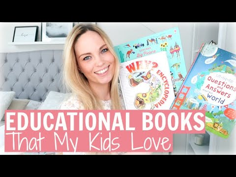 EDUCATIONAL BOOKS FOR KIDS | BOOKS MY KIDS LOVE | Alex Gladwin