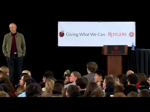 Peter Singer - Giving What We Can