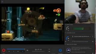 093 Donkey Kong Country Returns - Mirror Mode - 3-4 Damp Dungeon - 200%