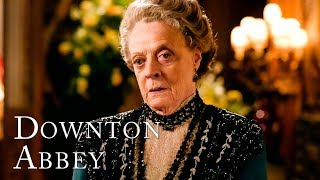 Maggie Smith's BEST quotes as The Dowager Countess | SEASON 3 | Downton Abbey
