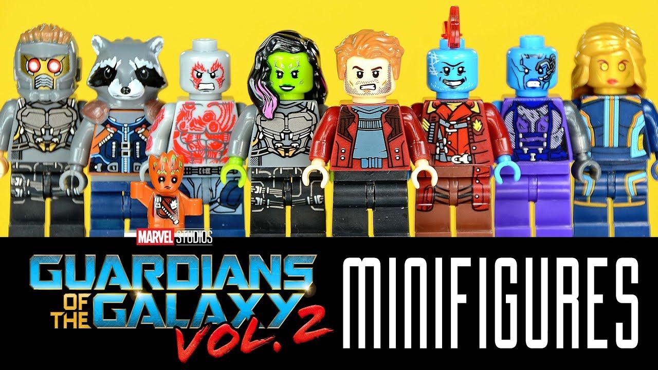 Guardians Of The Galaxy 2 Custom Mini Figures Gamora