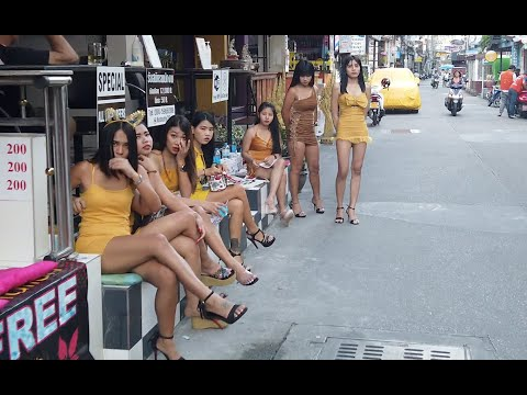 Pattaya Day Scenes: Bars Are Open And The Girls Are Waiting For Tourists To Return To Thailand.