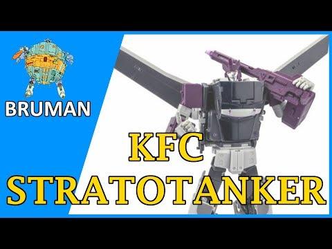 KFC Stratotanker Review (Masterpiece Transformers G1 Octane)