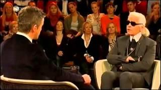 Pervers   Karl Lagerfeld bei Markus Lanz  propagiert Sterbehilfe 2013