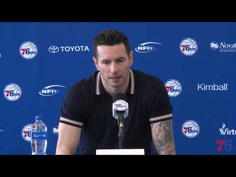 76ers Exit Interview 2018 | JJ Redick (5.10.18)