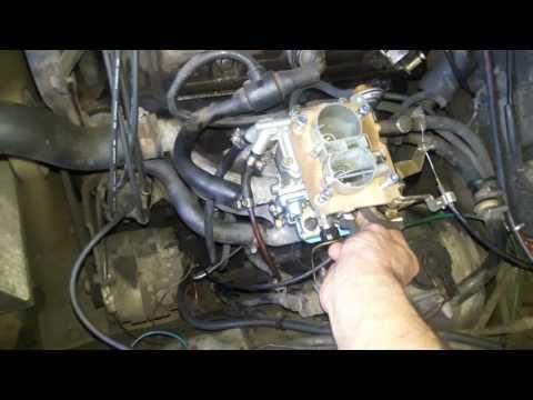 Ajcarburadores- Weber 460 do Chevette 1991 do Rubens