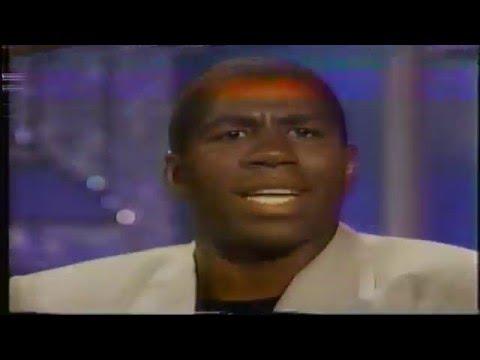 "Magic Johnson on ""The Arsenio Hall Show"" (1991)"