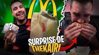 TheKairi m'envoie une grosse commande SURPRISE McDonald's en pleine nuit !