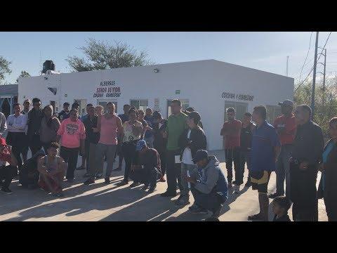 Migrantes centroamericanos llegan a Reynosa con beb�s enfermos