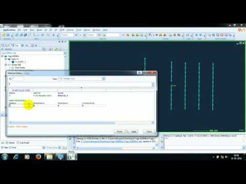 Designing a Yagi Uda Antenna using ESI CEM One Software