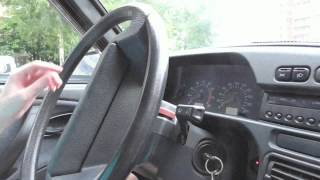 видео Блокиратор рулевого вала Ваз 2115