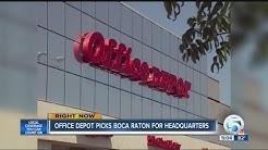 Office Depot picks Boca Raton for headquarters