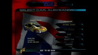 ToCA 2 Touring Cars - New Car Skins (1997-2000) and Easter Egg (feat. Tiff Needell)