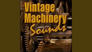 Industry, Conveyor - Heavy Antique Wood Conveyor: Start, Run, Shut off, Rattly, Factory &...
