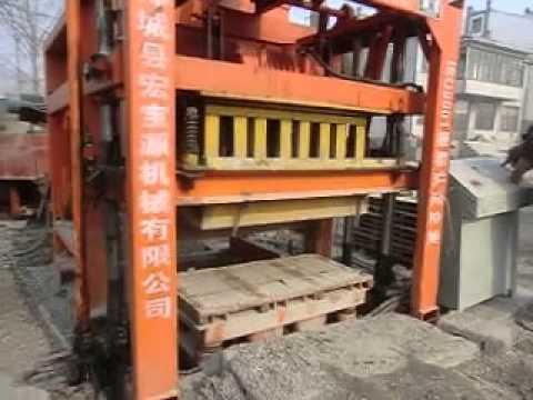 QTJ4 28Hollow block making machine production field