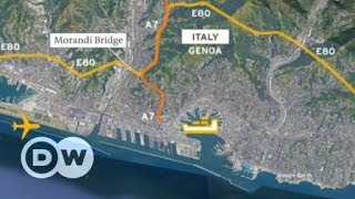 Italy bridge collapse: What does loss of bridge mean for Genoa? | DW English