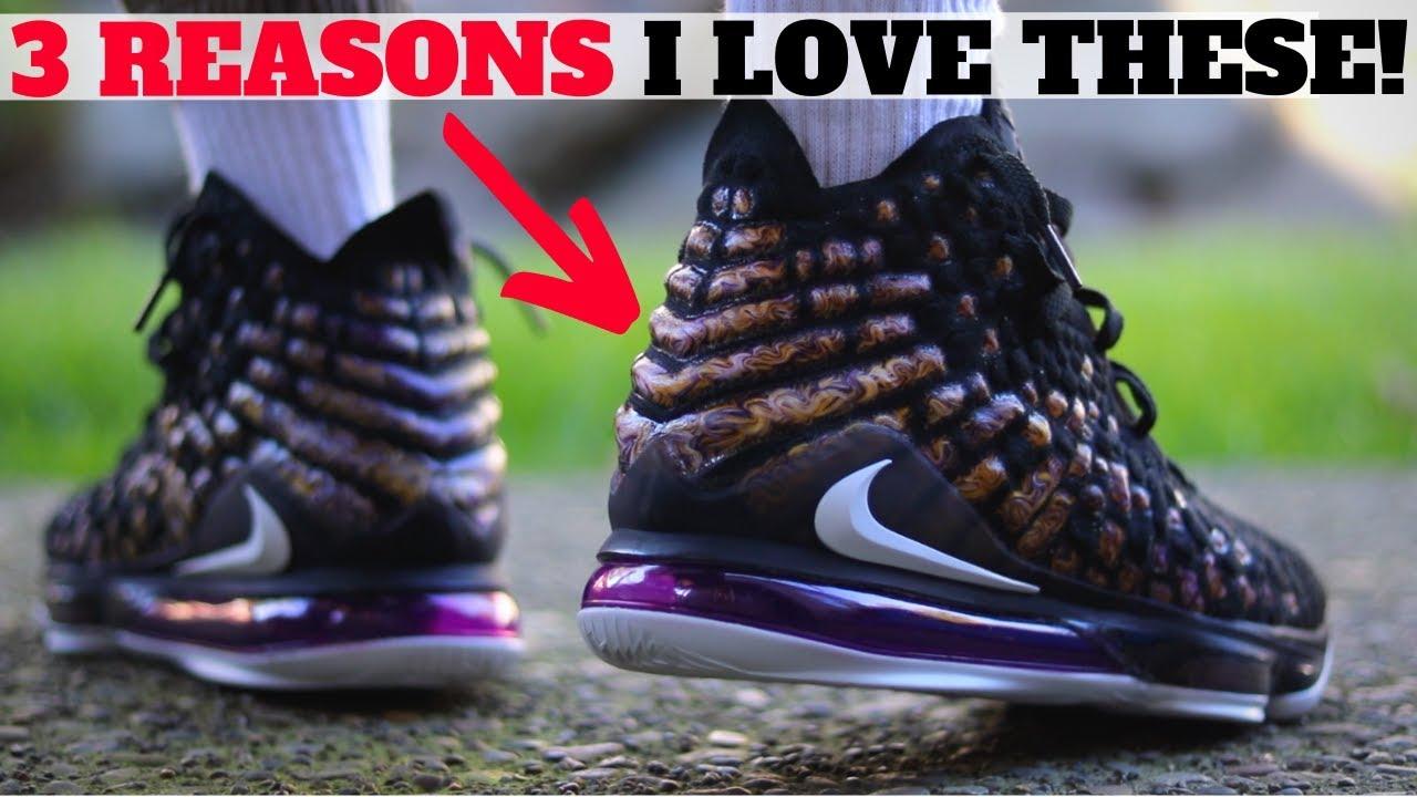 NIKE LEBRON 17 'LAKERS' 3 Reasons I Love This Sneaker Theme!