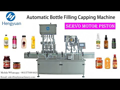 High-accuracy Automatic Liquid Fillerwith Capping Machine Made In China