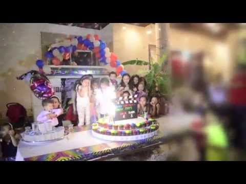 Hoda, Haya & Badr B-Day Party (Jeddah 2014)
