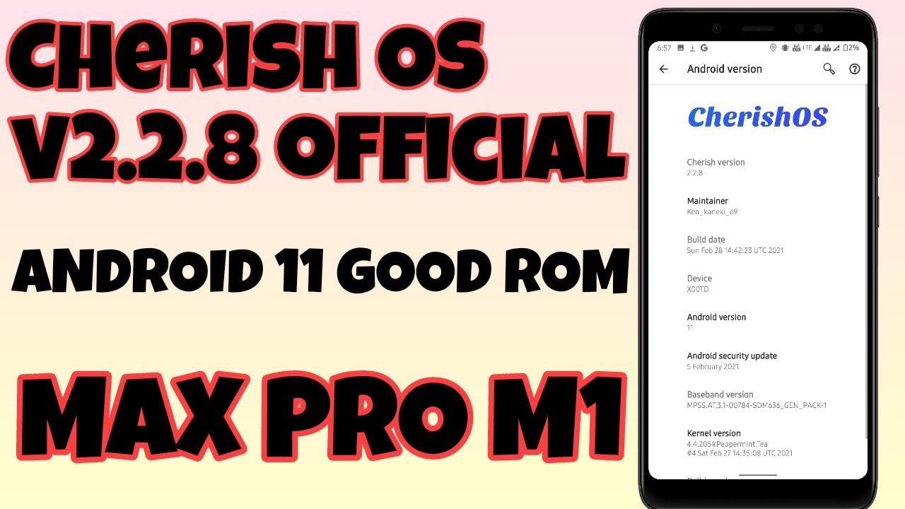 Cherish os v2.2.8 for Asus Zenfone Max Pro M1 | Very good Android 11 Rom | Newtechlearners