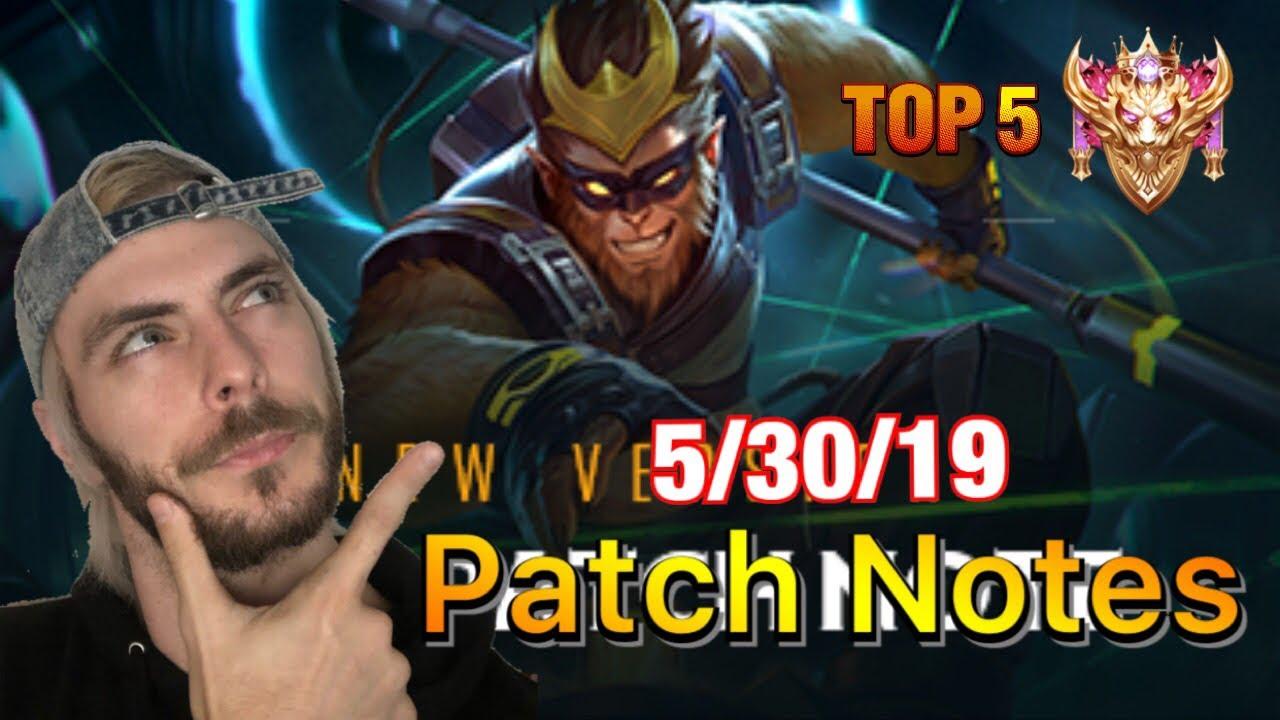 NEW PATCH! 5/30/19 | Top 5 Conqueror | Arena Of Valor / ROV / Liên Quân /  傳說對決 / 펜타스톰