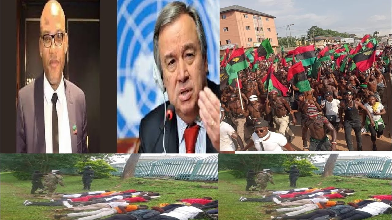Breaking:Biafran's MNK provides full list of Biafrans kïłłëd By Nigerian Govt to UN