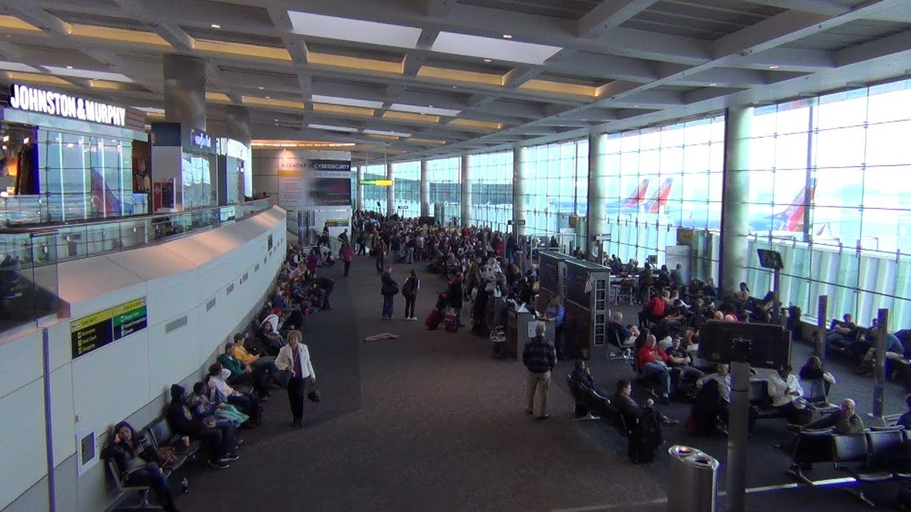 A Video Tour Of Bwi Airport Concourses A B And C Part