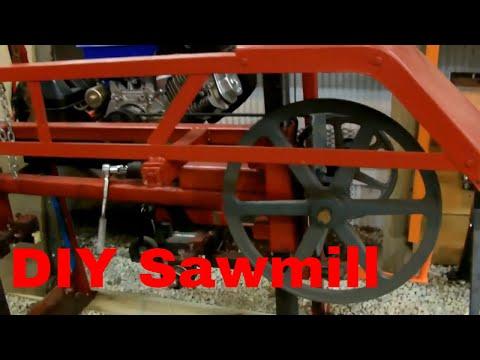 DIY Sawmill Walkaround